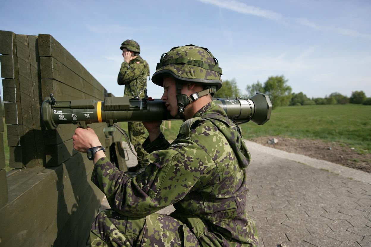 værnepligtig - Våbenuddannelse